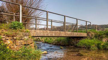 Bruggetje over de Selzerbeek  bij Mamelis van John Kreukniet