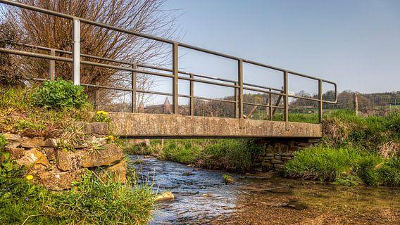 Bruggetje over de Selzerbeek  bij Mamelis