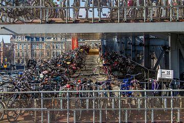 fietsen stalling van Wijbe Visser