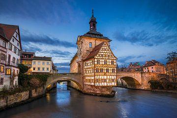 Stadhuis van Bamberg van Michael Abid