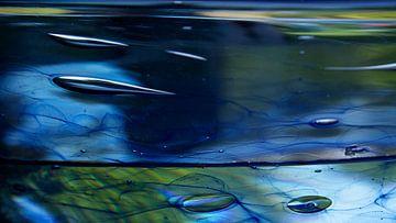 Het samenspel van gras, glas, lucht en water van Betty van Engelen