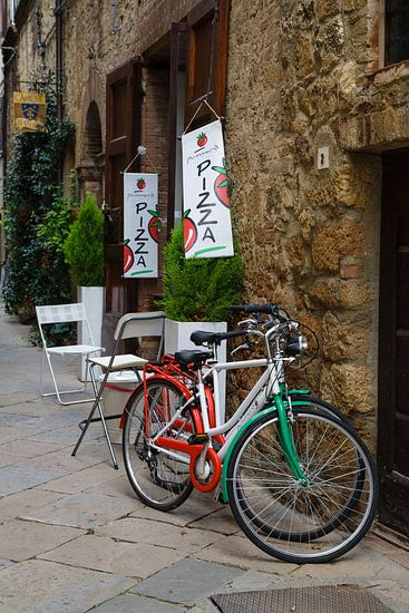 Italiaanse fietsen van Bart van Dinten