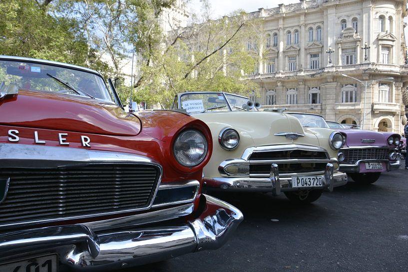 Havana Klassieke Auto's van Bjorn Letink
