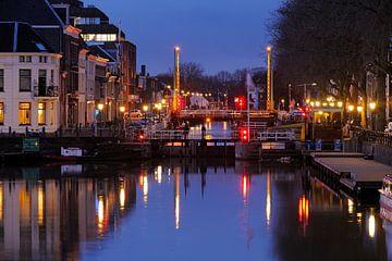 De Bemuurde Weerd met de Weerdsluis in Utrecht (2) sur Donker Utrecht