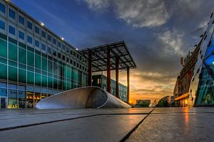 Eindhoven Piazza bij zonsopkomst