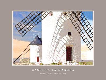 Castilla La Mancha   |   Poster von Dirk H. Wendt