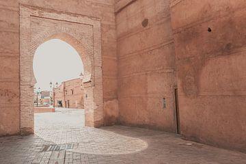 Straßen von Marrakech von Sophia Eerden