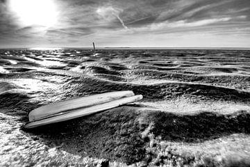 Een scheermes op het strand von Studio de Waay