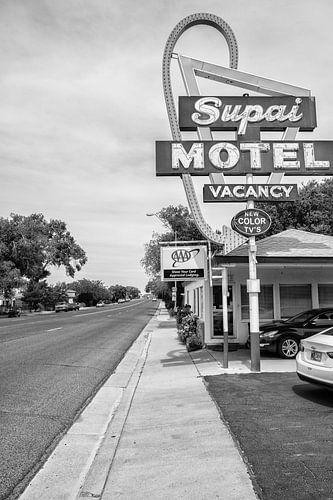 Supai Motel langs de Route 66