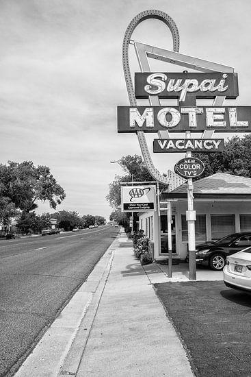 Supai Motel langs de Route 66 van Loek van de Loo