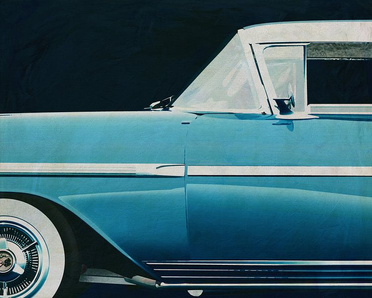 Chevrolette Impala Special Sport Edition 1958 van Chevrolette van Jan Keteleer