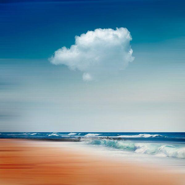 Atlantische golven - abstracte fotografie van Dirk Wüstenhagen