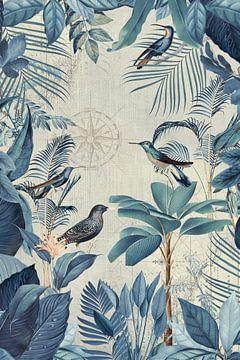 Nostalgisch Reise der Vögel