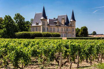 Wijnchateau in Bordeaux van Koen Henderickx