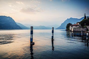 Lago d'Iseo (Italien) von Alexander Voss