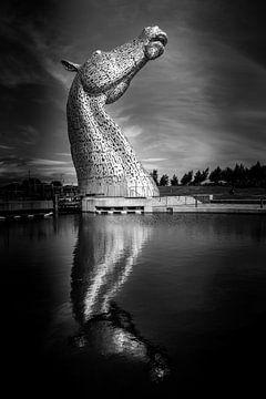 The Kelpies, Schotland von Dennis Wardenburg