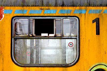 Alter, baufälliger Zug (4 von 4) von Jeroen Gutte