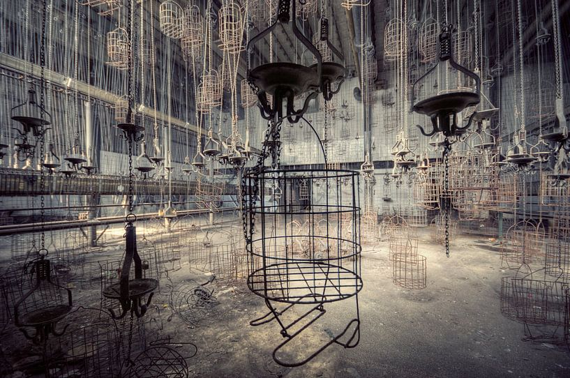 Urbex - Mandjes van Angelique Brunas
