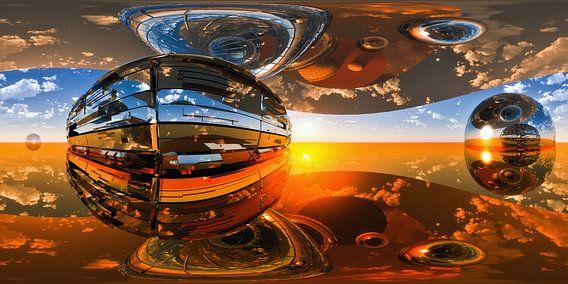 Raum-Zeit Kontinuum von Max Steinwald