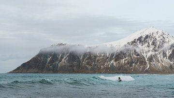 Winter surfing sur Marloes van Pareren