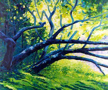 De lente in mij van Rob Donders Beeldende kunst