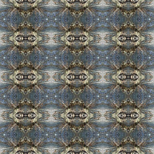 Muster mit einem Detail eines gefällten Baums von Ton Kuijpers