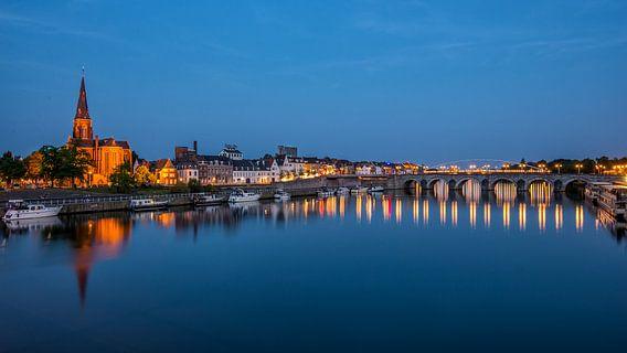 Maastricht tijdens de avond