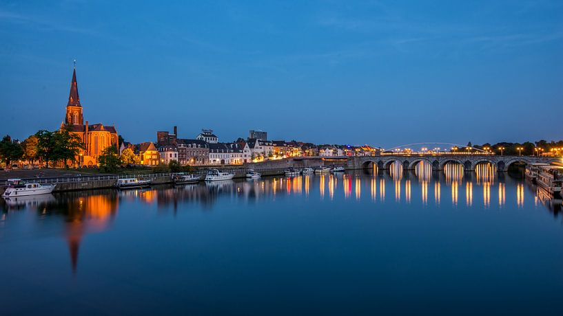 Maastricht tijdens de avond van Bert Beckers