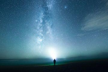 Melkweg in de mist van Oliver Henze