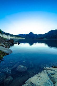 Lac de Roselend 1 von Deshamer
