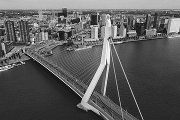 Die Erasmus-Brücke, Rotterdam von Joey van Embden