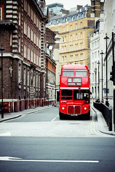 Londen Bus van Sander Monster