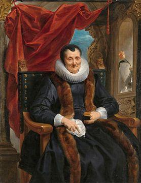 Porträt von Magdalena de Cuyper, Jacob Jordaens