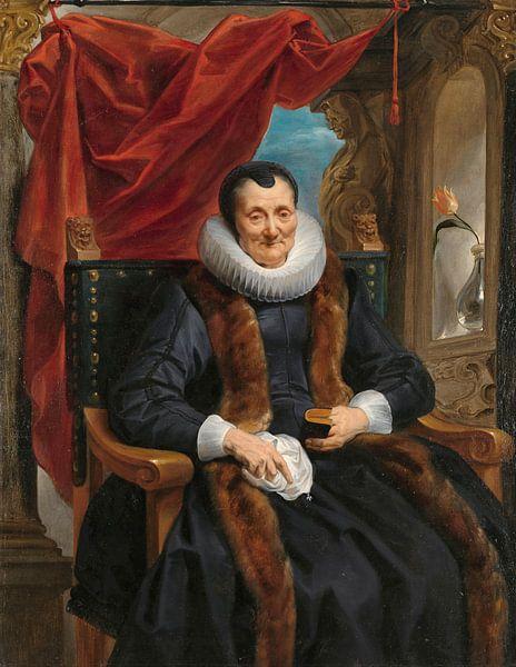 Porträt von Magdalena de Cuyper, Jacob Jordaens von Meesterlijcke Meesters