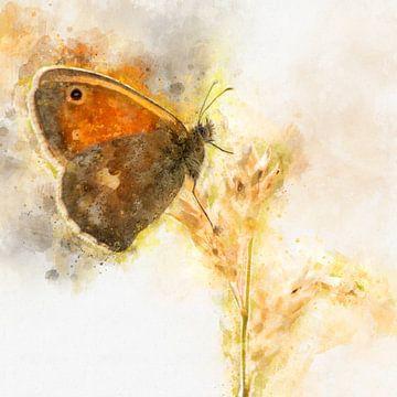 Vlinder 6 van Silvia Creemers