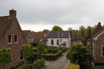 Straat in Bourtange van Jan-Matthijs van Belzen