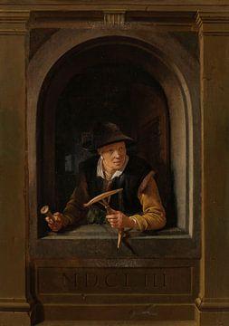 Eine Fischersfrau, Gerard Dou
