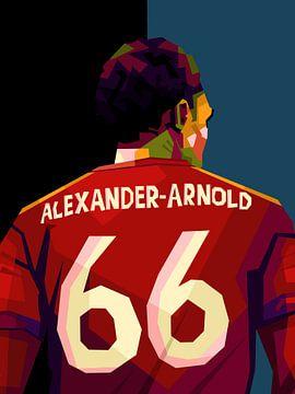 Alexander Arnold in wpap van miru arts