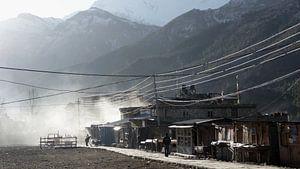 'Acclamatiseren in Manang', Nepal