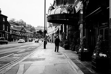 Straße in London von Kristof Ven