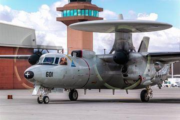 E-2 Hawkeye bei NAS FALLON (TOP GUN). von Patrick Vercauteren