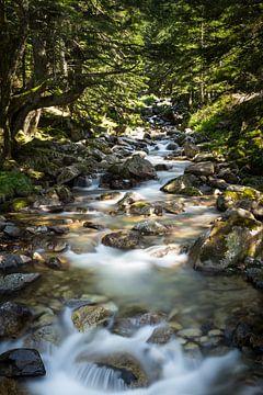 Sprookjes rivier in de Pyreneeën van Kris Christiaens