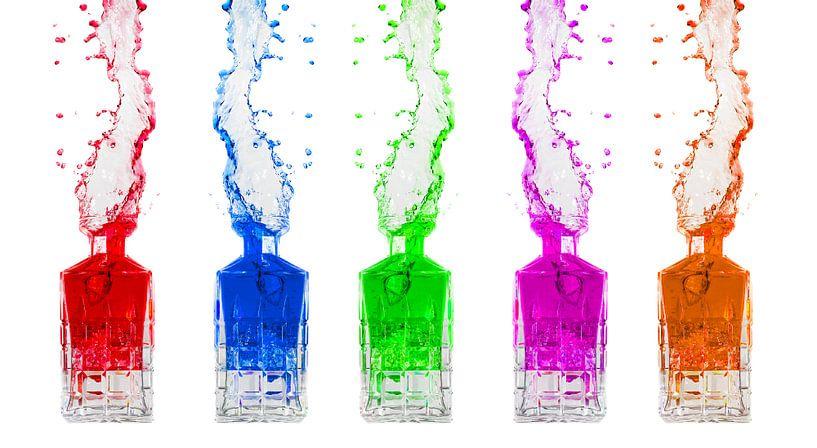 Kleuren Splash van Dennis van de Water