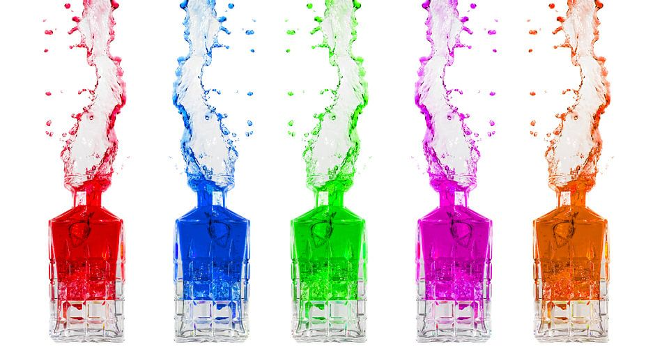 Kleuren Splash