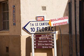 Frankrijk straatbeeld von Rosanne Langenberg