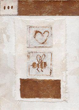 My Honey Bee nr. 12 von Keserű Collective