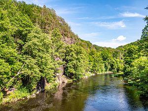 Fluss Zschopau im Erzgebirge Sachsen von Animaflora PicsStock