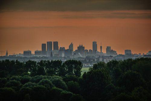 Skyline van Den Haag von Arnold de Gans