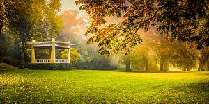 Noorderplantsoen Groningen in herfstkleuren van