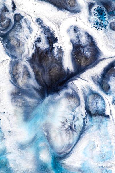 Blauwtinten inkt van Edith Lüthi